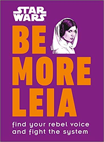 star wars be more leia book