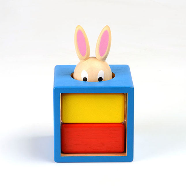 bunny peek-a-boo puzzle game