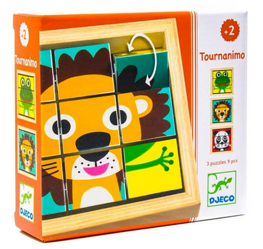 Tournanimo Wooden Puzzles