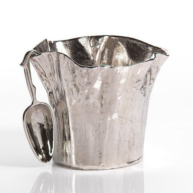 Artisan Aluminum Ice Bucket with Scoop