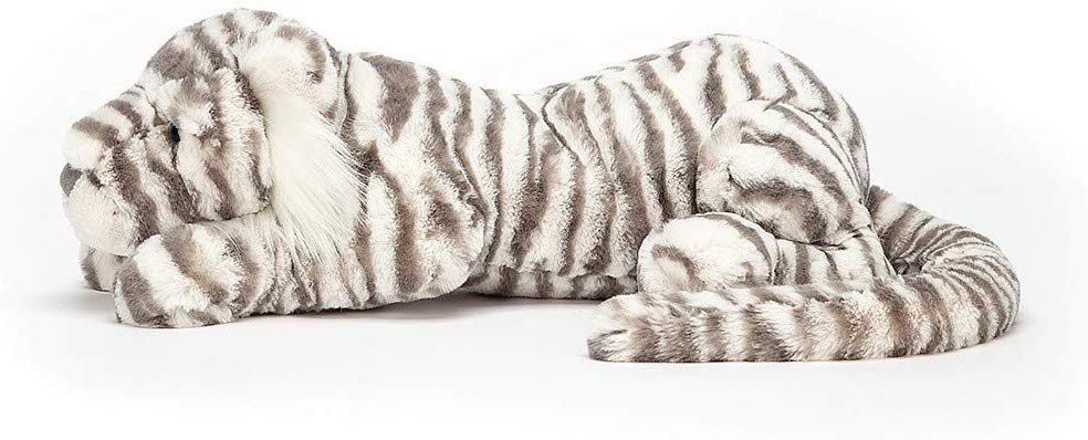 sacha snow tiger really big stuffed animal