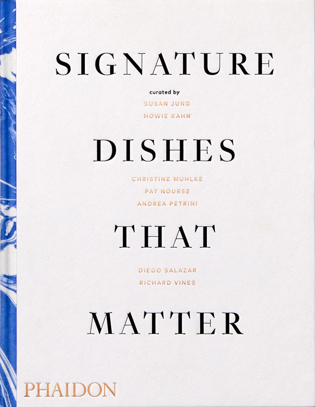 signature dishes that matter book
