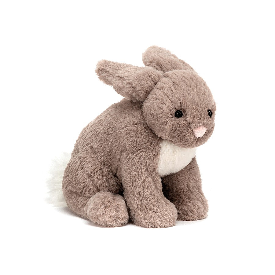 riley rabbit beige small stuffed animal