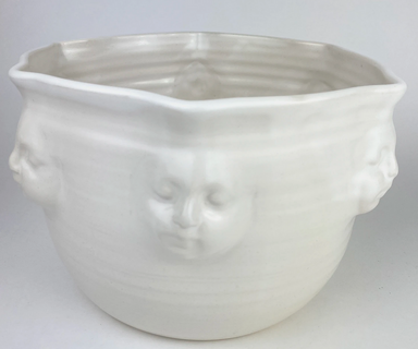 White Face Bowl Large