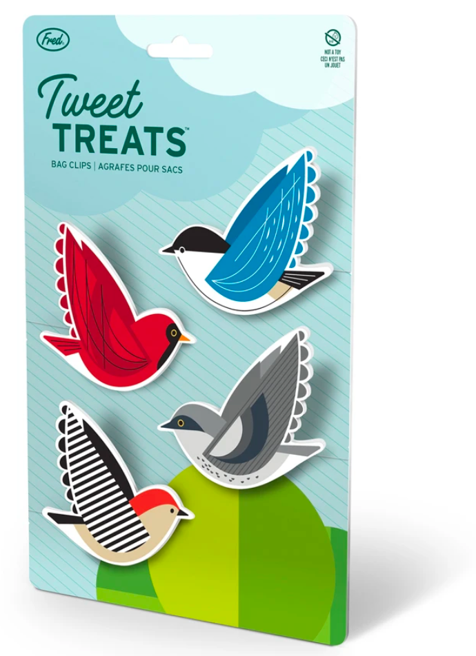 tweet treats bag clips