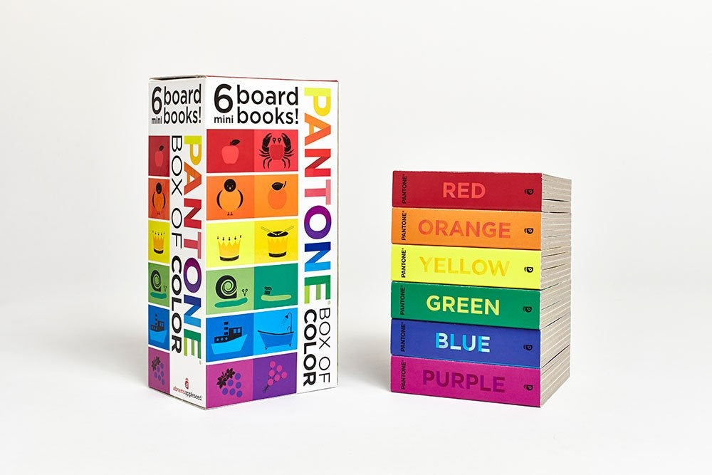 pantone block books