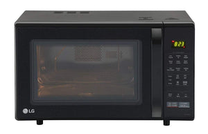LG 28 L Convection Microwave Oven (MC2846BG, Black, with Free Starter Kit)