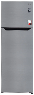 LG 308 Liters S322SPZY 2 Star Smart Inverter Compressor, Convertible Frost Free Refrigerator - Kay Dee Electronics