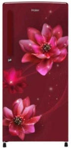 Haier 262L Direct Cool Single Door Refrigerator HRD-2623CRP-E (Red Peony)