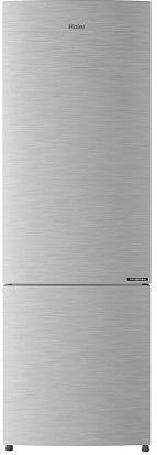 Haier 256L 3 Star Inverter Frost-Free Bottom-mount Convertible Refrigerator (HRB-2764BS-E, Brushline Silver)