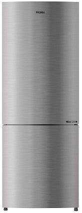 Haier HRB-2764CIS-E 256 L 3 Star Double Door Refrigerator (Inox Steel)