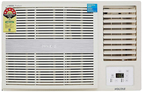 Voltas 1.5 Ton 5 Star Window AC 185 LZH, Copper, R32 Gas Air Conditioner - BookmyAC