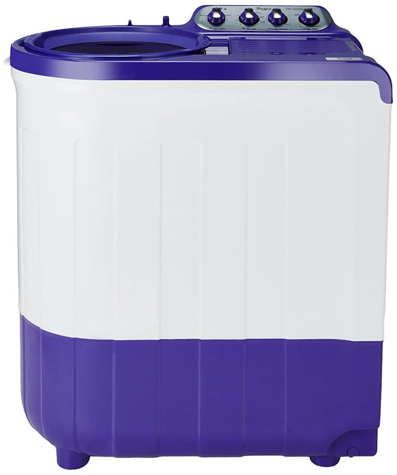 Whirlpool 8 kg 5 Star Semi-Automatic Top Loading Washing Machine (ACE SUPER SOAK 8.0, Coral Purple, Supersoak Technology)