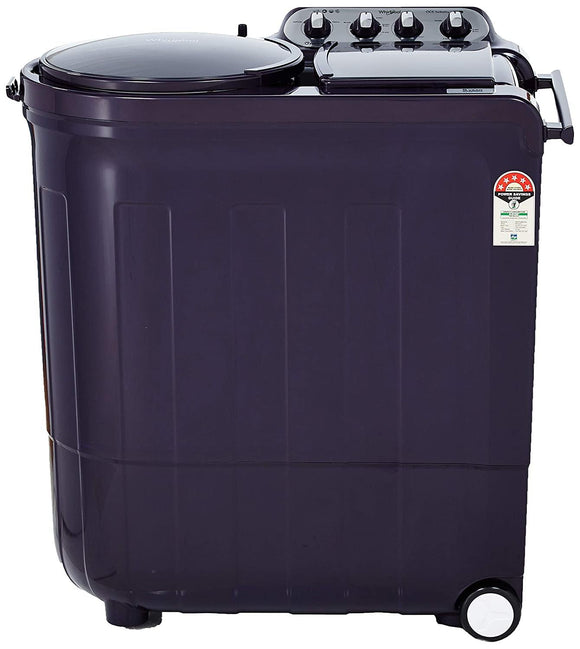 Whirlpool 8.5 Kg 5 Star Semi-Automatic Top Loading Washing Machine (ACE 8.5 TURBO DRY, Purple Dazzle)