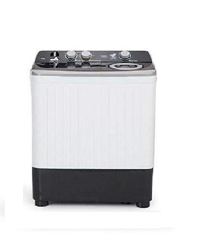 Haier 7 Kg Semi-Automatic Top Loading Washing Machine (HTW70-186S, Grey)