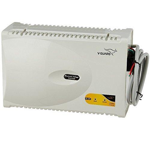 V-Guard VG400 - Voltage Stabilizer for Air Conditioner (For 1-1.5 Ton AC) Grey