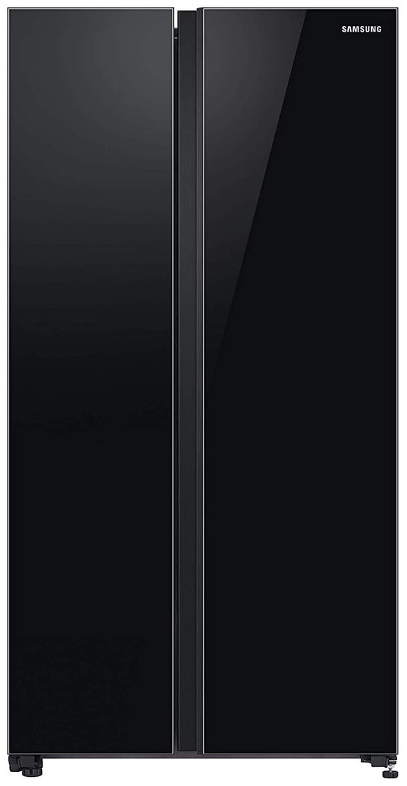 Samsung RS72R50112C/TL, 700 L Inverter Frost-Free Side-By-Side Refrigerator (Black)