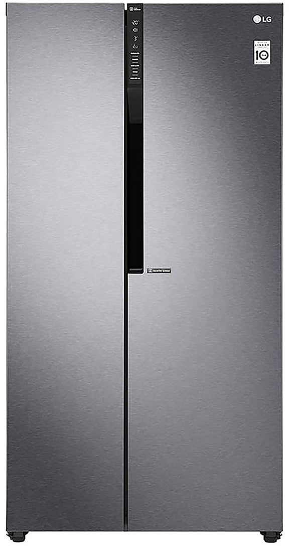 LG 679 L (GC-B247KQDV.ADSQEBN) Frost Free Side-by-Side Refrigerator, Graphite steel - Kay Dee Electronics