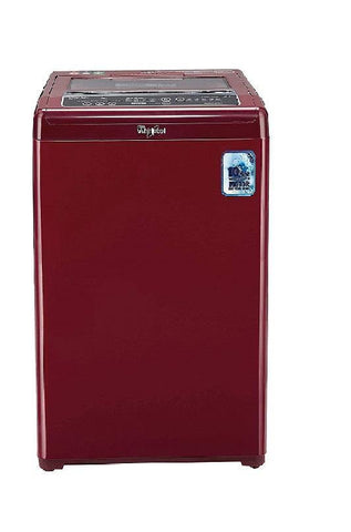Whirlpool 7.0 Kg Fully-Automatic Top Loading Washing Machine (WHITEMAGIC PREMIER 7.0 WINE 10YMW, Wine)