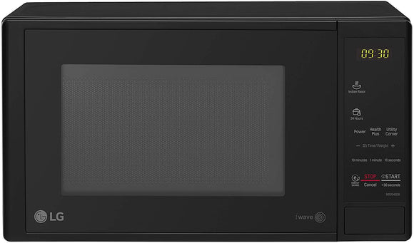 LG MS2043DB, 20 L Solo Microwave Oven (Black)