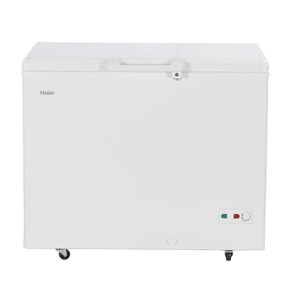 Haier - Single Door Hard Top Deep Freezer HCC 345HC, 319 liters, White, Convertible