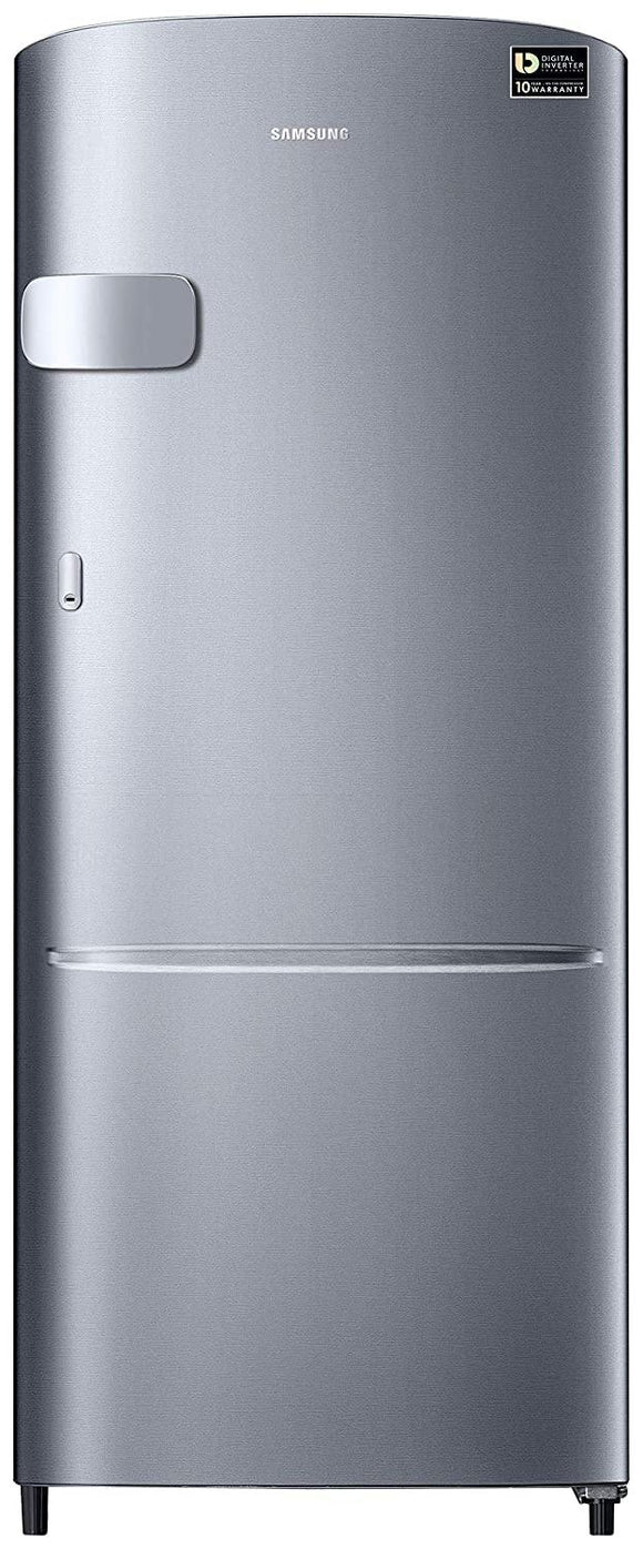 Samsung 192 L 3 Star Inverter Direct-Cool Single Door Refrigerator (RR20T2Y2YS8/NL, Elegant Inox(Light Doi Metal))