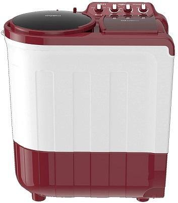 Whirlpool 8.5 Kg Semi-Automatic Top Loading Washing Machine (ACE 8.5 SUPERSOAK (CORAL RED) (5YR), Coral Red)