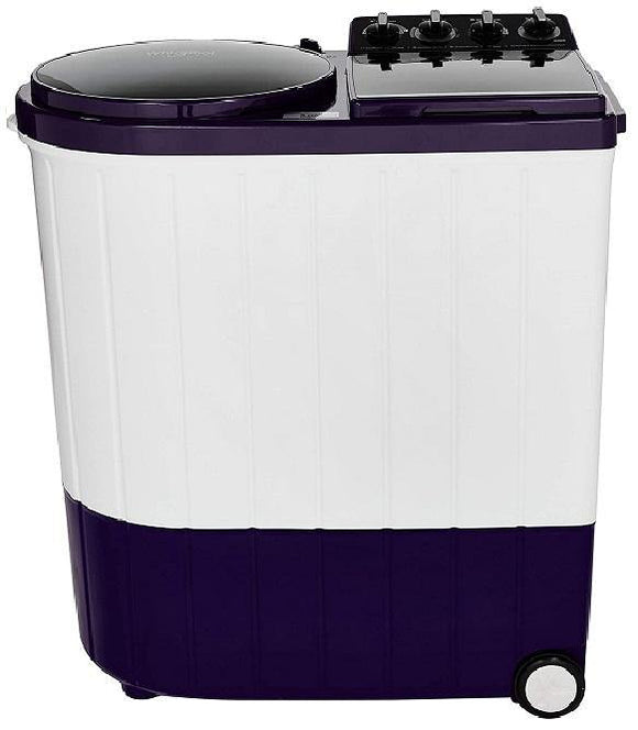 Whirlpool 9 Kg Semi-Automatic Top Loading Washing Machine (ACE XL 9.0, Royal Purple, 3D Scrub Technology)