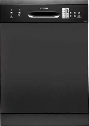 Hafele Aqua 12S, 12 Place Settings Stainless Steel Freestanding Dishwasher, Silver - Kay Dee Electronics