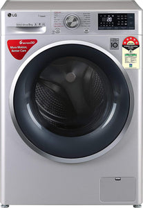 LG FHT1408ZWL, 8 kg 5S Inv Wi-Fi Fully-Automatic Front Loading Washing Machine - Kay Dee Electronics
