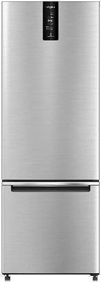 Whirlpool 355 L 3 Star Frost Free Double Door Refrigerator (IF PRO BM INV 370 ELT+, Omega Steel, Bottom Freezer) 21381 - Kay Dee Electronics