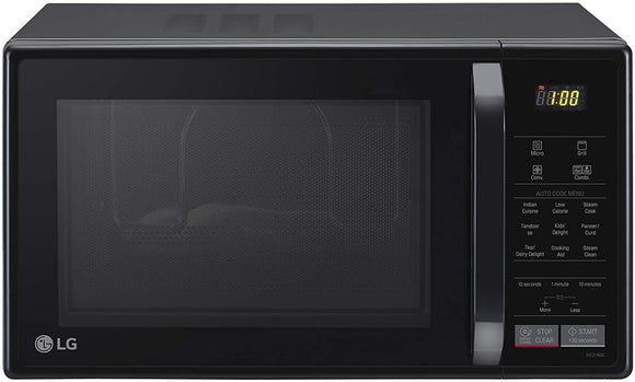LG 21 L All In One Convection Microwave Oven (MC2146BL, Black, With Starter Kit) - Kay Dee Electronics