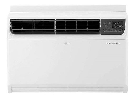 LG JW-Q18WUXA1 1.5 Ton 3Star Dual Inverter Window AC, Ocean Black Protection (Copper)