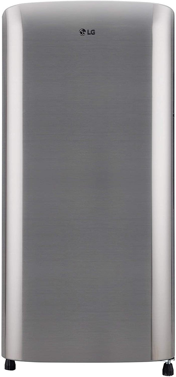 LG 190 L 3 Star Direct-Cool Single Door Refrigerator (GL-B201RPZD, Shiny Steel)