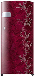 Samsung 192 L 2 Star Direct-Cool Single Door Refrigerator (RR19T2Z2B6R/NL, Mystic Overlay Red)
