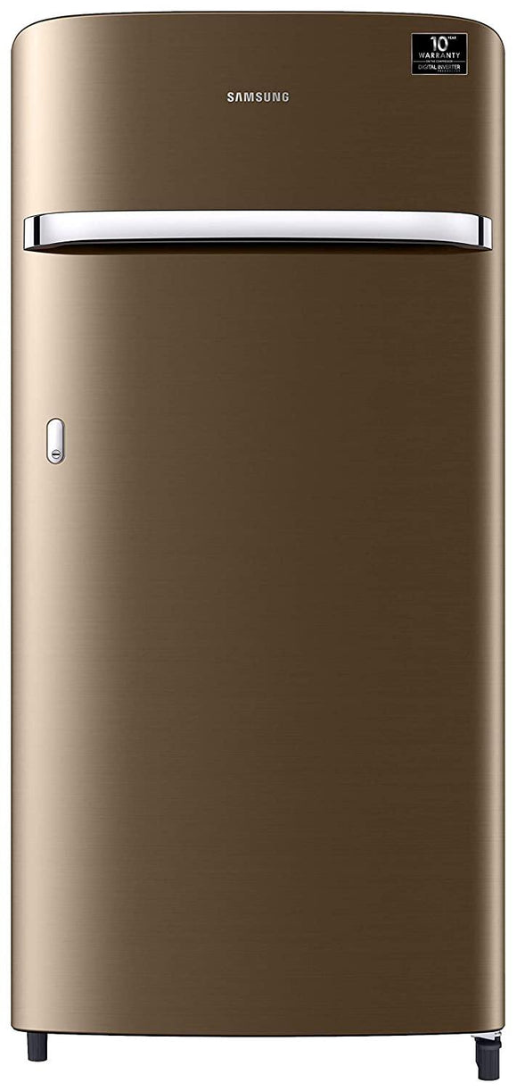 Samsung 198 L 3 Star Direct-Cool Single Door Refrigerator (RR21T2G2YDU/HL, Luxe Gold)
