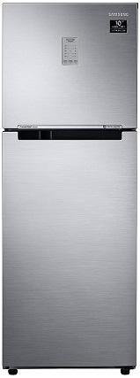 Samsung 253L 2 Star Inverter Frost Free Double Door Refrigerator(RT28A3722S8/NL, Elegant Inox, Convertible)