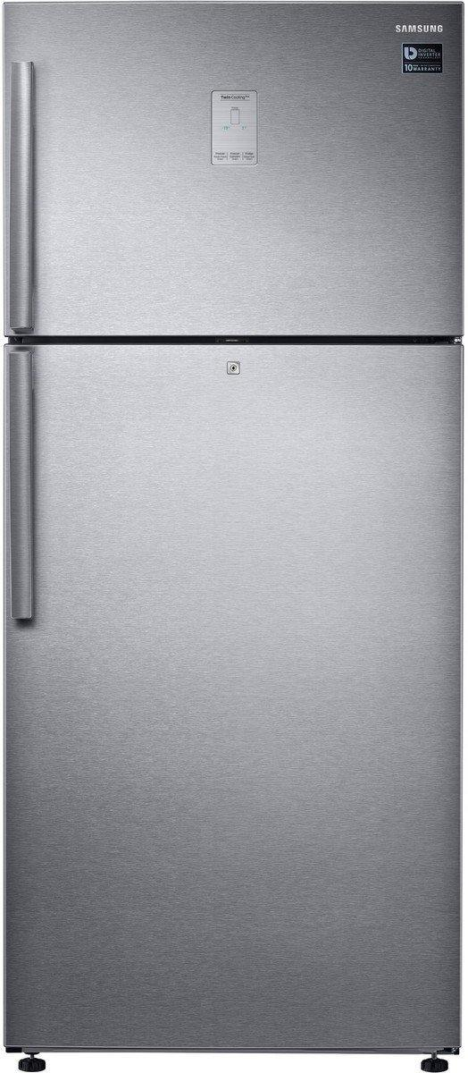 Samsung 551 L 2 Star Frost Free Double Door Refrigerator (RT56K6378SL/TL, Easy clean Steel, Inverter Compressor)