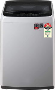 LG 7 kg Inverter Fully-Automatic Top Loading Washing Machine (T70SPSF2Z, Middle Free Silver)