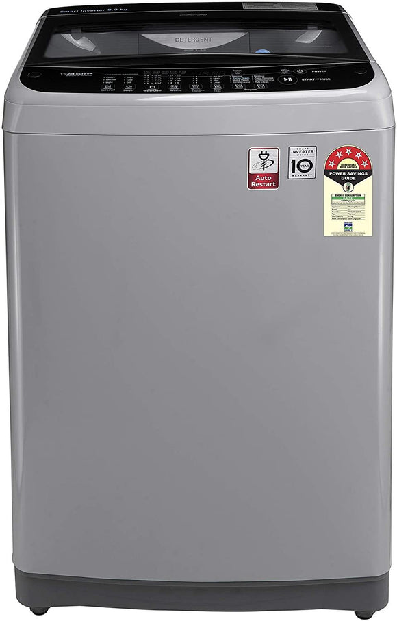 LG 9.0 Kg 5 Star Smart Inverter Fully-Automatic Washing Machine (T90SJSF1Z) - Kay Dee Electronics