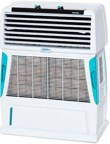 Symphony Touch 55 Room Air Cooler 55-litres with Double Blower, 4-Side Cooling Pads, Cool Flow Dispenser