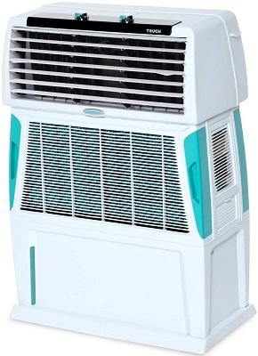 Symphony Touch 80 L Room/Personal Touch Air Cooler (White)
