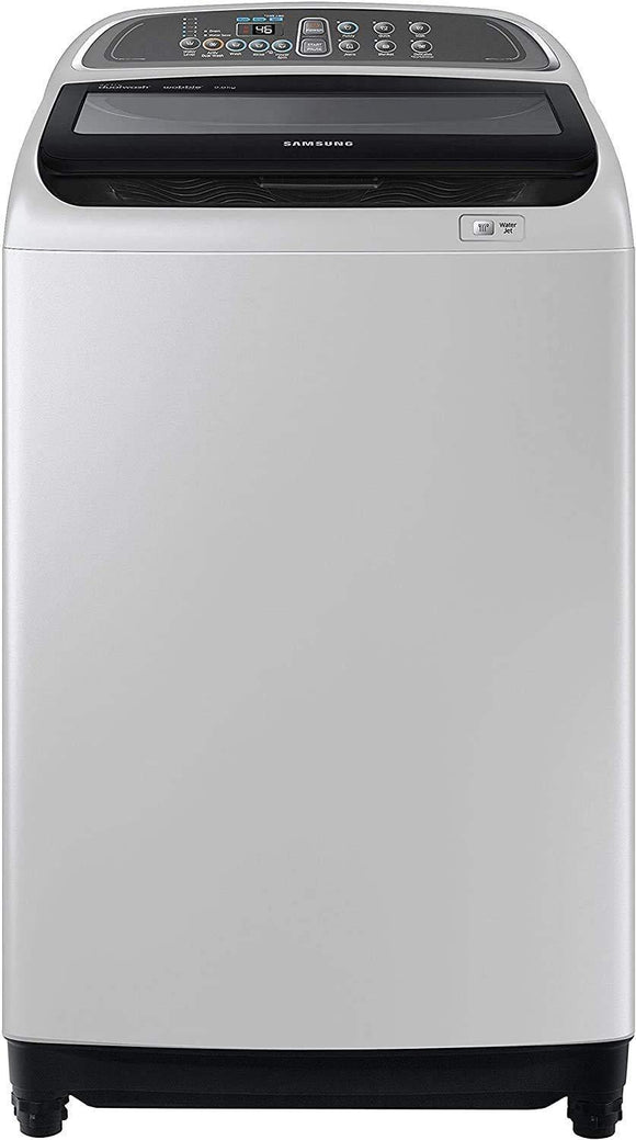 Samsung WA90J5710SG/TL Fully-Automatic Top-Loading Washing Machine (9 Kg, Grey)