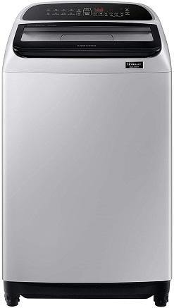 Samsung 9 Kg Inverter 5 star Fully-Automatic Top Loading Washing Machine (WA90T5260BY/TL, Lavender Grey, wobble technology)