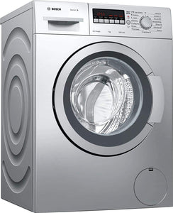 Bosch 7 kg WAJ2446SIN Fully-Automatic Front Loading Washing Machine (Silver) - Kay Dee Electronics