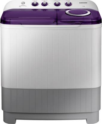 Samsung 7.5 kg Semi-Automatic Top Loading Washing Machine (WT75M3200HL/TL, Light Grey, Air turbo drying)