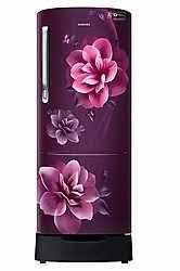 SAMSUNG SINGLE DOOR 230 LITRES 3 STAR REFRIGERATOR CAMELLIA PURPLE RR24A282YCR-NL