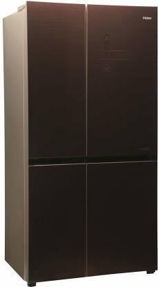 Haier HRB-550CG 531 L Inverter Frost-Free Side-by-Side Refrigerator (Chocolate)