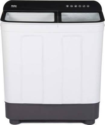 Haier HTW70-178BK 7 Kg Semi-Automatic Top Loading Washing Machine (Black)