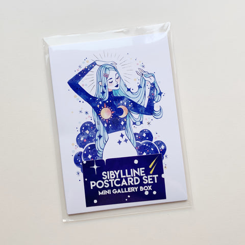 POSTCARD SET - SIBYLLINE